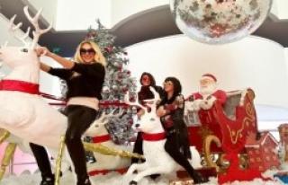 Hande Yener, Noel Geyiğine Bindi