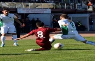Hatayspor-Konya Anadolu Selçukspor: 1-1