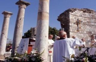 Hıristiyanlar Bayramlarını Kutladı