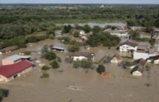 Hırvatistan'da Sel Felaketi