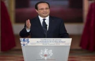 Hollande'dan 'Kaçamak' Cevap