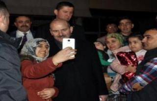 İçişleri Bakanı Soylu Osmaniye'de
