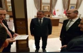 İçişleri Bakanı Soylu'ya Güneysulu Gelin