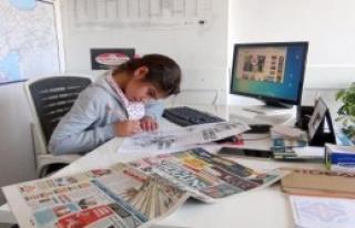 İlkokul Öğrencileri Gazete Yönetimi Devraldı