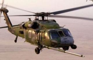 İngiltere'de ABD Helikopteri Düştü