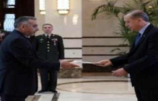 İran Büyükelçisi'nden Erdoğan'a Güven Mektubu