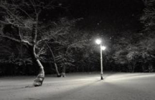 İstanbul'da Gece Kar Etkili Oldu