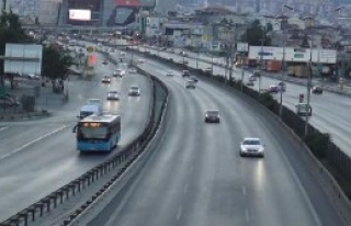 İstanbul'da Trafik Yüzde 1...