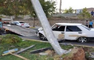 İzne Gelen Asker Kazada Yaralandı