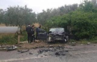 İznik'te Kaza: 1 Ölü 2 Yaralı