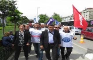 Kadıköy'de 1 Mayıs 1996'da Ölenler Anıldı