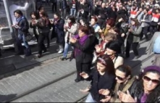 Kadıköy'de Emekçi Kadınlar Günü Eylemi