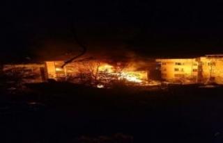 Kadıköy'de Gecekondu Yangını...
