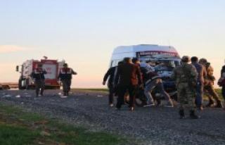 Kahta'da TrafikKazası: 1 Ölü, 1 Yaralı
