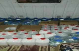500 Litre Kaçak İçki