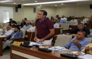 Karabağlar Belediye Meclisi'nde Darbeye Ortak Kınama