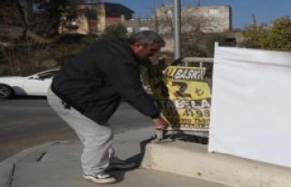 Karabağlar'da Korsan Reklamcılara Geçit Yok