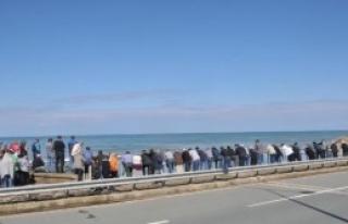 Karadeniz'de Kaybolan Kadın Aranıyor