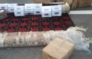 Kargo Aracında Kaçak Malzemeler Yakalandı