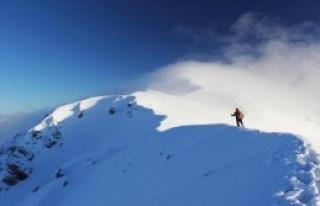 Karlı Zirvede Adrenalin Yürüyüşü