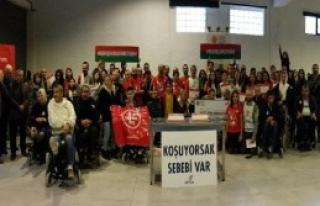 Karşıyaka One Team Engelliler İçin Koştu