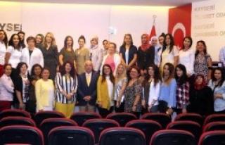 Kayseri'de 'Kız Kardeşim' Projesi