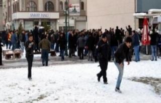 Kayseri'de Ülkücülerin Gıyabi Cenaze Namazı Kıldı