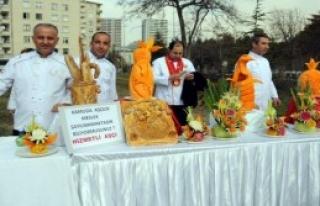 Kayseri'de Yöresel Yemek Yarışması