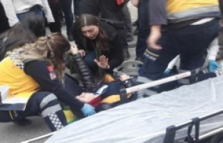 Kazada Yaralandı Başında Ağlandı