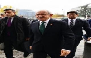 Kemal Kılıçdaroğlu Strasbourg'ta