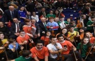 Kılıçdaroğlu, Çocuk Konseri Dinledi