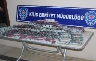 Kilis'te 95 Bin Uyuşturucu Hap Ele Geçirildi