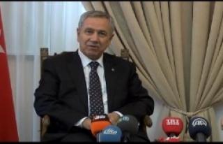 Başbakan Yardımcısı Arınç, KKTC'de!