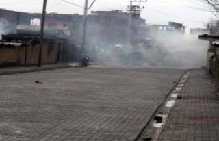 Kobani Yardım Çadırı Polis Tarafından Kaldırıldı