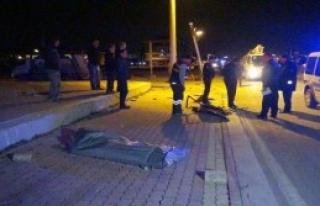 Konya'da Kaza: 1 Ölü 3 Yaralı