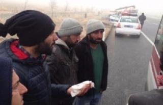 Konya'da Sis Kazaları: 15 Yaralı