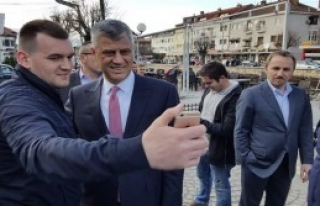 Kosova'nın Yeni Cumhurbaşkanı Taçi Prizren'de