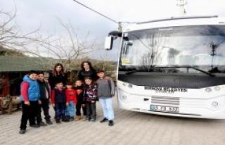 Köy Çocukları 'Deniz Kızı Maira'yı İzledi