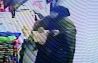 Havlu Ve Keçe Hırsızlığı Kamerada