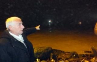 Mahsur Kalan Balıkcılar 5 Saatte Kurtarıldı