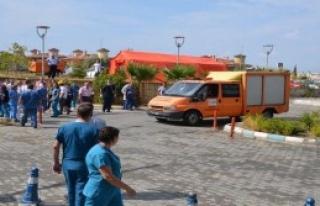 Manisa CBÜ Hastanesi'nde Deprem Tatbikatı