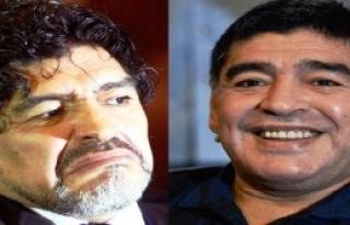 Maradona Yüzünü Yeniledi