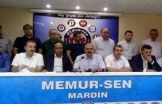 Mardin'de STK'lardan Teröre Ortak Tepki