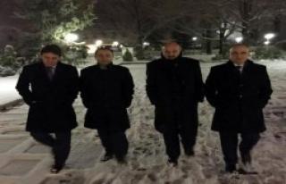 Mecliste Kar Altında Akşam Yürüyüşü