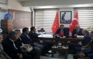 Düzce CHP İl Başkanı'na MHP'den Ziyaret