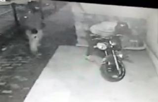 Motosikleti Çalarken Görüntülendi