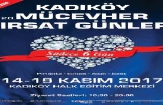 20. Kez Kadıköy'de Açılıyor