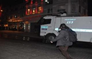 Müdahale Edilen Grup CHP Binasına Sığındı