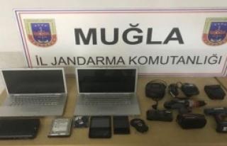 Muğla'da Hırsızlık Operasyonu