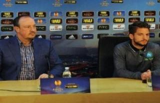 Napoli Teknik Direktörü Benitez: 'Trabzonspor 4-0'la...